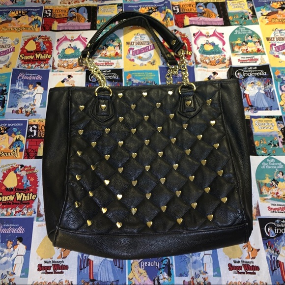 Betsey Johnson Handbags - Betsey Johnson Hearts purse